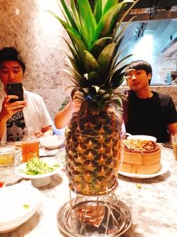 TST Dinner Pineapple