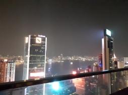 Wan Chai rooftop bar view